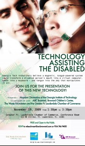 Technology Assisting the Disabled